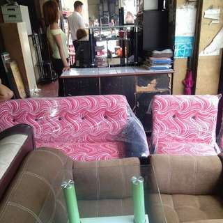 Sofa set(center table not included)