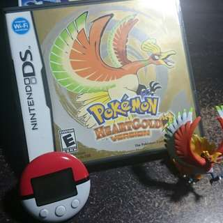 Pokemon Heartgold with walmart exclusive figure