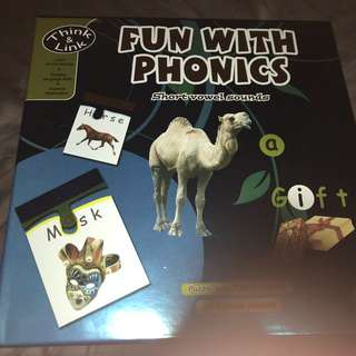 Fun w phonics think and link 28 2pc puzzle for learning