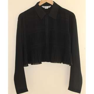 ORIGINAL! Vivienne Tam pleated top