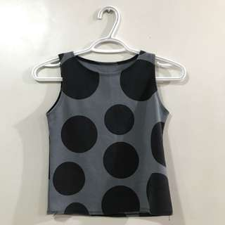 polka dots top
