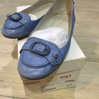 Balenciaga Flats 38 Blue