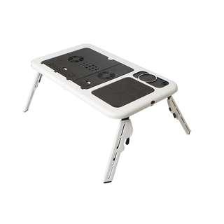 E-Table Portable Laptop Table w Cooler Fan E-table LD-09
