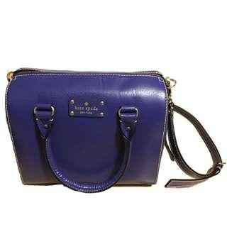 Kate Spade Blue Handbag 90% New 藍色手袋 9成新