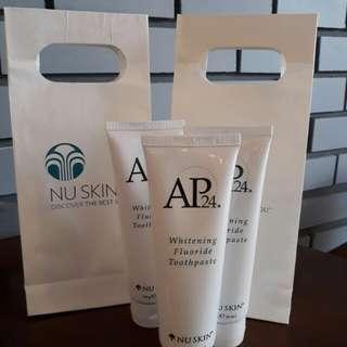 NU Skin AP24 Whitening Flouride Toothpaste