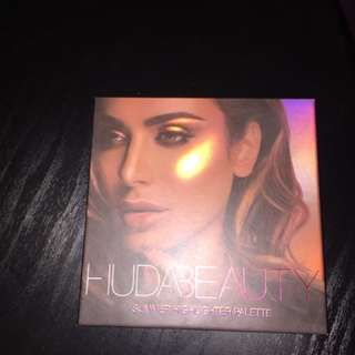 Authentic Huda Summer highlight pallet