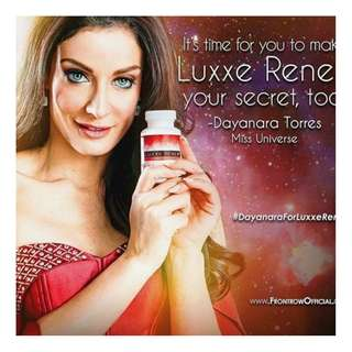 Frontrow Luxxe Renew 8 Berry Extract 60Capsules with Free Celebrity Soap