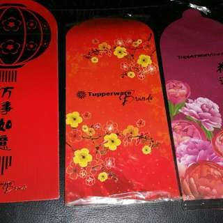 Red Packets Tupperware brands