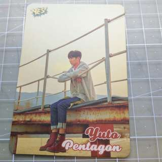 Pentagon yes card