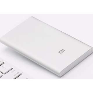 Genuine Brand New Xiaomi Mi Power Bank 5000mAh (Silver)