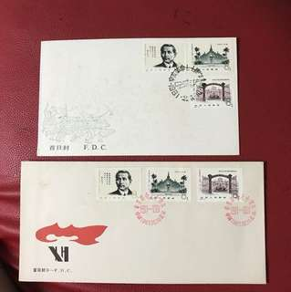 China stamp 1981 J68 2 FDC