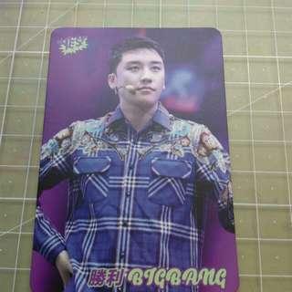 勝利 BIGBANG yes card