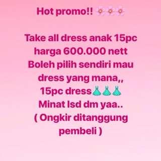 Dress ( take all 15pc)