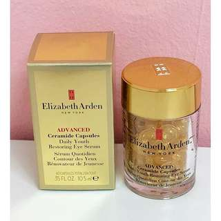 Elizabeth Arden Advanced Ceramide Capsules Daily Youth Restoring Eye Serum 60 Capsules, 10.5ml