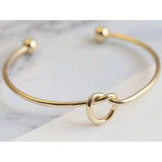 Goldplated love bracelet