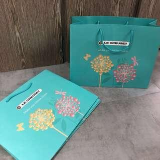 LC Le Creuset Special Edition Paper Bag 特別版紙袋