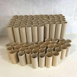 Toilet & Kitchen Rolls For Art & Craft