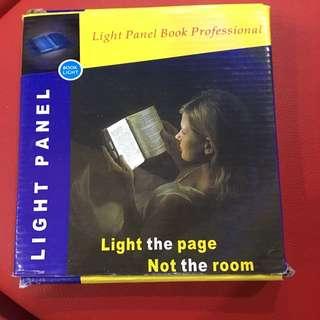 Light Panel for book reading
