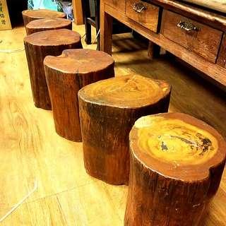 檜木,木頭椅