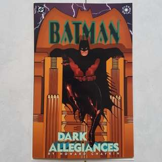 DC Comics Elseworld Batman Dark Allegiances One Shot Near Mint Condition
