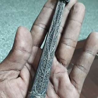 Antique of 1900s  fine designed patina of hand sculpture /zoom to see the photo NO 4 CARRY THE CODE No *125*