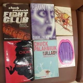 Chuck Palahniuk - 6 book set