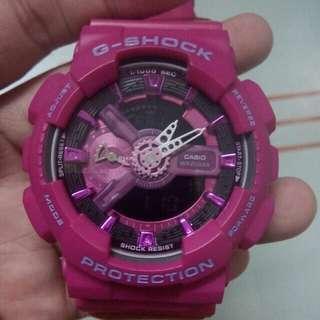 Gshock Ga110MP Fushia Pink Oem
