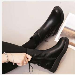 Genuine Leather Boots #CNY88