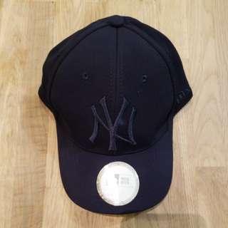 NY 帽 navy blue