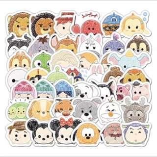 Tsum Tsum 貼紙 24張