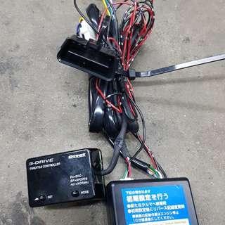 Pivot 3 drive throttle controller