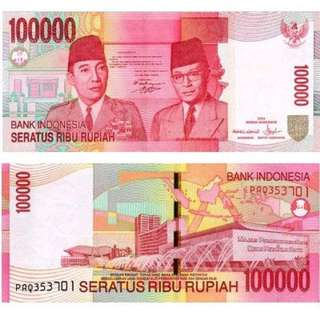 100.000 Rupiah