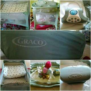 Graco Pack and Play portable napper