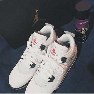 Jordan 4 Cement With The OG Box*Price Dropped