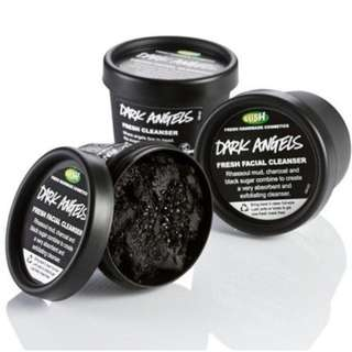 lush dark angels cleanser (100g)