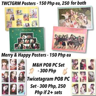 TWICE Twicetagram/Signal Pre-order Benefits POB Photocard PC Sets Posters KPOP Album DVD CD Merchs Goods