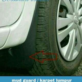 Mud guard / karpet lumpur DATSUN GO+