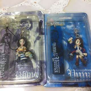 Final Fantasy X/X-2 Yuna phonestraps