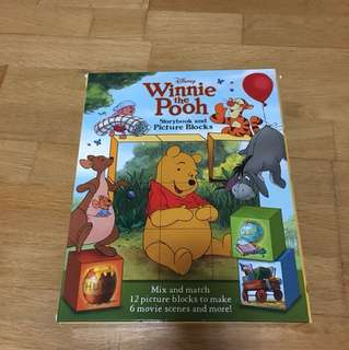 Winnie the Pooh Storybook & Picture Blocks