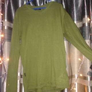 Long t-shirt green