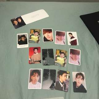 GOT7 photocards pc jinyoung jb bambam youngjae