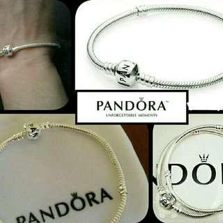 Pandora 925 silver plated bracelets