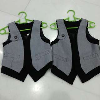 Boy's vests