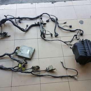 Wiring engine gti complit set ecu