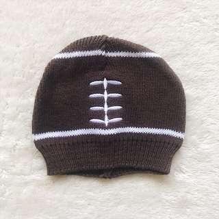 Knitted Football Beanie