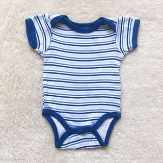 BABY GEAR Blue Stripes Onesies