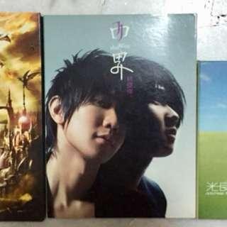 [SALE] JAY CHOU, JJ LIN, GUANG LIANG ALBUM