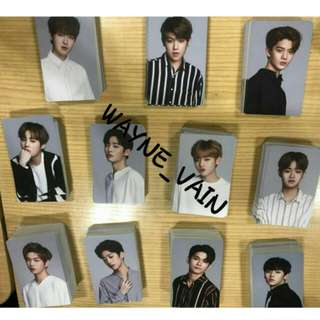WANNA ONE×LOTTERIA PHOTOCARD