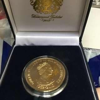 *Limited edition* Diamond jubilee QE II coin