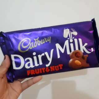 Cadbury Dairy Milk (Fruits & Nuts)